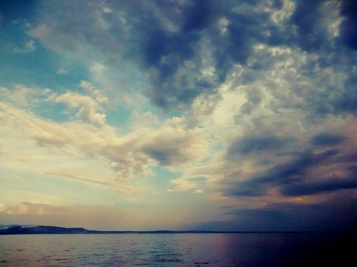 July. Sky Cloud