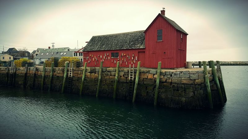 Motif 1 Rockport Harbor Rockport, Ma Usa View From The Landing Overcast Weather ❤ By The Sea Seaside_collection Coastline S6 Coastal Views Fishing Village Eyem Gallery Massachusetts Film Location Ocean Port Cape Ann EyeEm Best Edits Showcase April