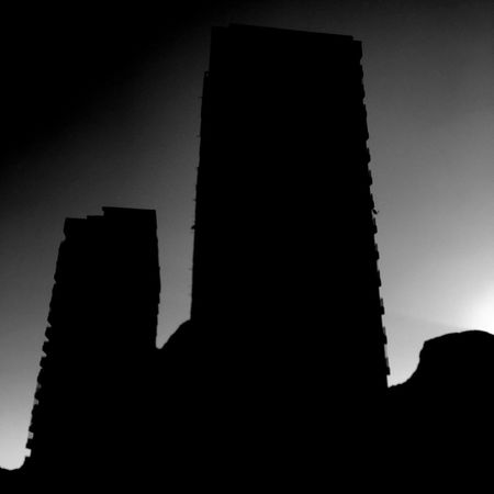 Silhouette Architecture No People Building Exterior Skyscraper Shootermag IPhoneography The Architect - 2017 EyeEm Awards For My Friends That Connect Blackandwhite Photography Black And White Black & White Blackandwhite