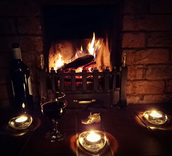 Cheers What Saturdays Was Invented Four Enjoying Life Cold Winter ❄⛄ Beautiful Relaxing On Cold Days Fire Fireplace Warmth
