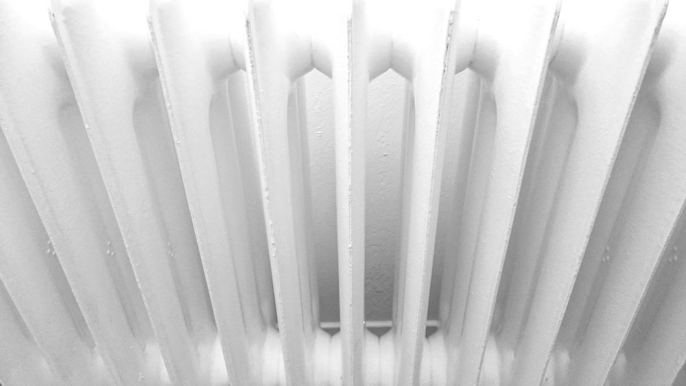 Pattern Geometric Abstraction Radiator Black & White Abstract Home Photography Metal White