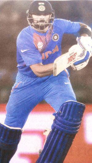 Kohli... The timing king Respect IndvsAus Wt20