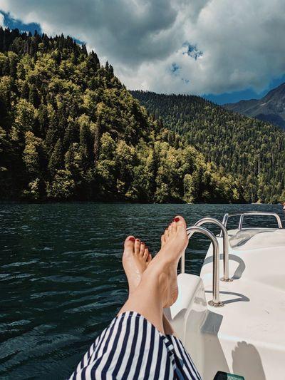 Lake relax