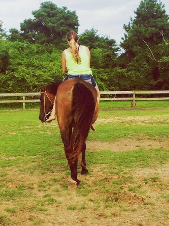 True love between a horse and rider Country Girl Horseback Riding True Love My Life