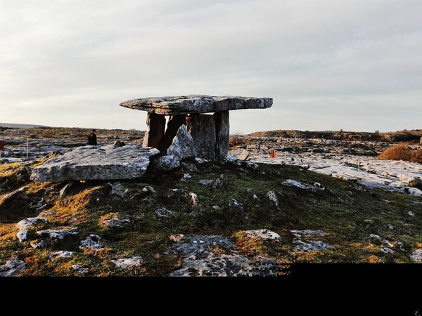 No People Outdoors Sky Nature Ireland Poulnabrone Dolmen Hystory