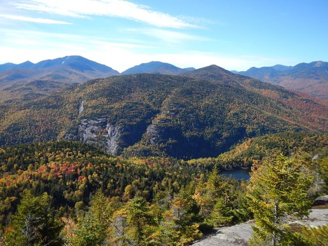 Beauty In Nature Mountain Range Landscape Autumn Colors Adirondack Mountains