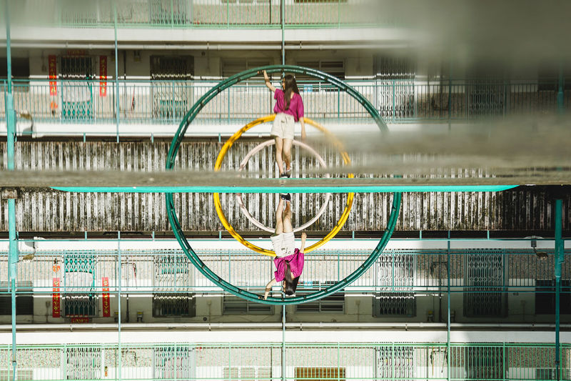 Circle Geometric Shape Architecture Shape Connection Window Building HongKong Hongkong Photos Hongkongphotography Reflection City City Life