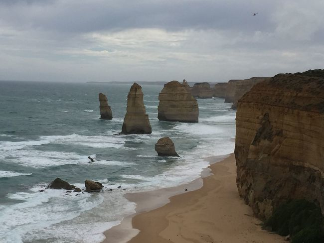 12 Apostles Australia Beach Cliff Coastline Geology The KIOMI Collection Rock The Great Outdoors - 2016 EyeEm Awards Rock Formation Rocky Rough Sand Scenics Sea Seascape Shore Twelveapostles Vacation Vacations Water Nature Showcase: March Showcase March Landscapes With WhiteWall