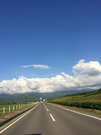 My Sky 空 夏空 青空 今日の空 信州 夏の雲 八ヶ岳山麓 八ヶ岳