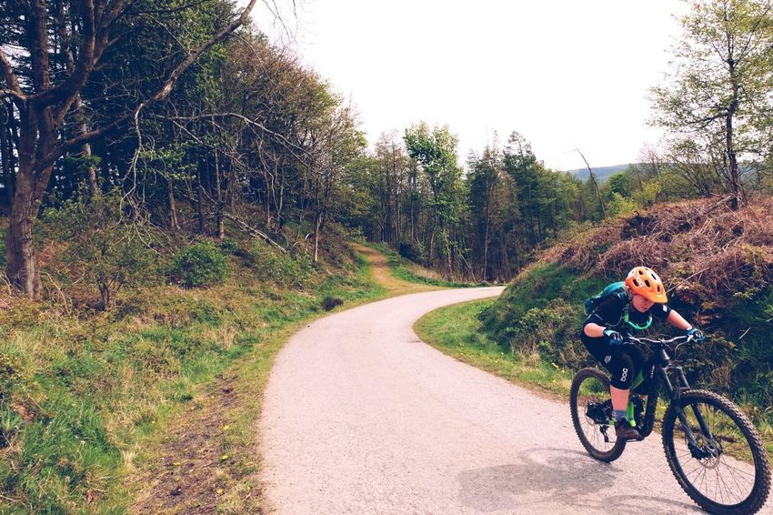 To the top | Bicycle Cycling Transportation Mountain Biking Sitting Road Nature Outdoors Adventure People Exercise Happiness Day Landscape Real People Cycling Helmet Hiking Eyeemphotography EyeEm Gallery Eye4photography  Taking Photos Exploring Break The Mold Beauty In Nature Trees