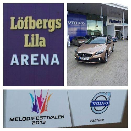 Nu kööör vi Melodifestivalen Karlstad Volvocars OfficialCar