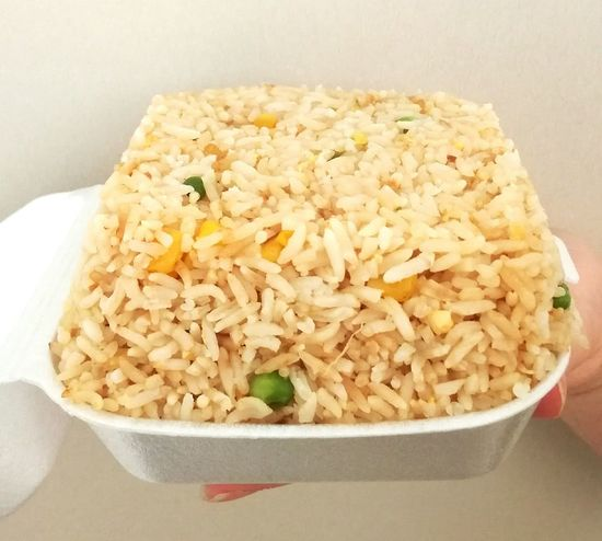 Isolated egg fried rice. Food Bowl Food And Drink Close-up Ready-to-eat Fried Rice Chinese Food Isolated Photograph Takeaway Food Dinner Time