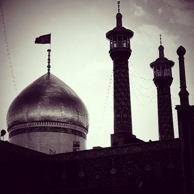 . سلام . . . . . . . حرم حضرت_معصومه قم Qom Iran Shia
