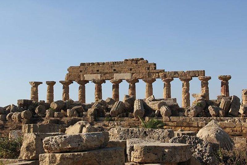 Selinunte Sicilia Sicily Italia Landscape Architettura Colonne Kollona Templi Antichita