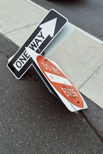 one way. do not