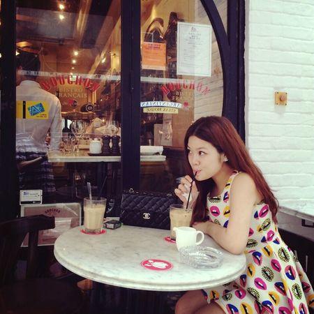 Taking Photos Enjoying Life Relaxing Coffee