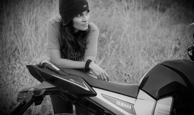 Yamaha Fazer Black & White