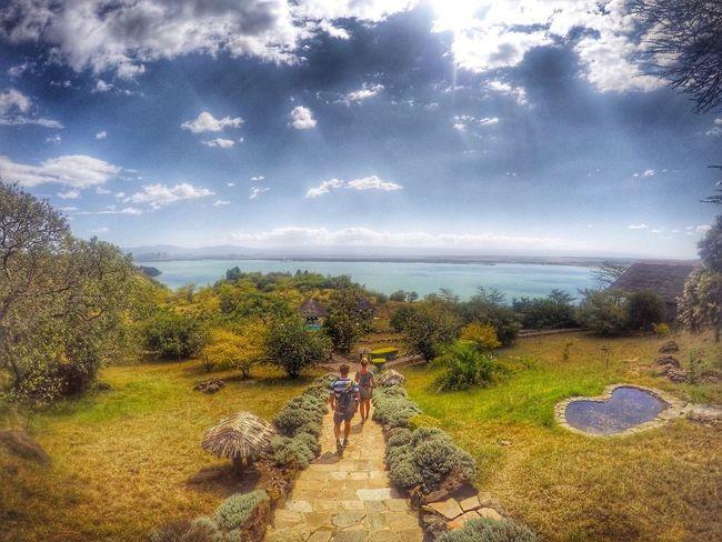 Enjoying the view of Lake Elemetatia Lakeelementatia Lake Kenya Gopro Goprohero4 Beahero View