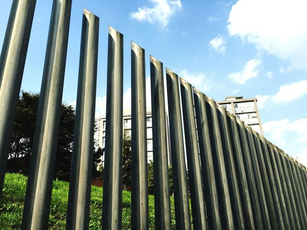 Fence color Fence Sky_collection Tubes Building Green The Human Condition Follow4follow Sky Check This Out Enjoying Life