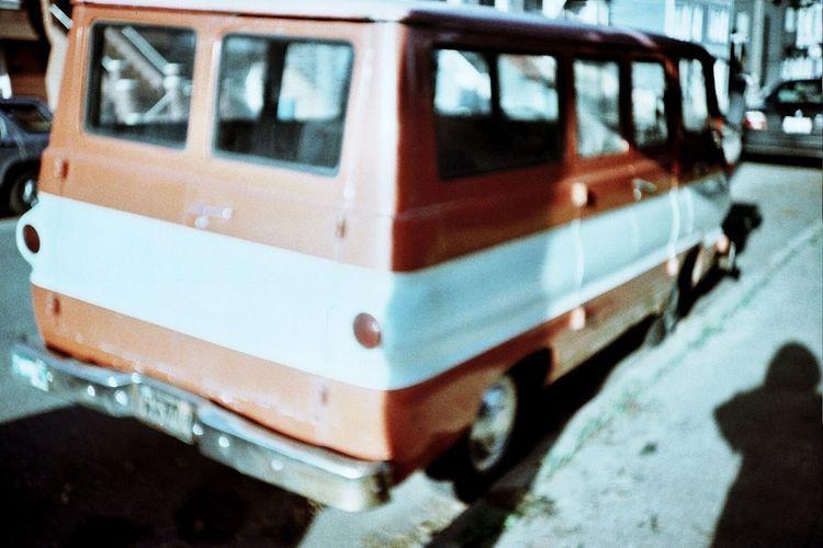Koduckgirl Real Film Film Dodge Van Transportation Forgotten Shots Land Vehicle Classic Van Dodge Van