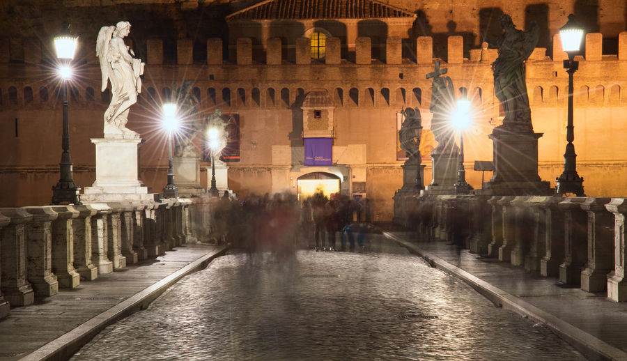 Monuments Castel Sant'Angelo ROME Rome Italy🇮🇹 Castel Sant'Angelo Romebynight Nightphotography Nightphoto Night Lights Night Photography Saint Angelo Castle Saint Angelo Bridge Nightphotography Nightshot Illuminated Monument Historic Memorial Mausoleum