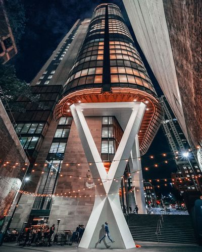 Jumping Jacks in an alley. The Traveler - 2018 EyeEm Awards Architecture Built Structure City Building Exterior Sign Transportation Road Building Modern Low Angle View Street