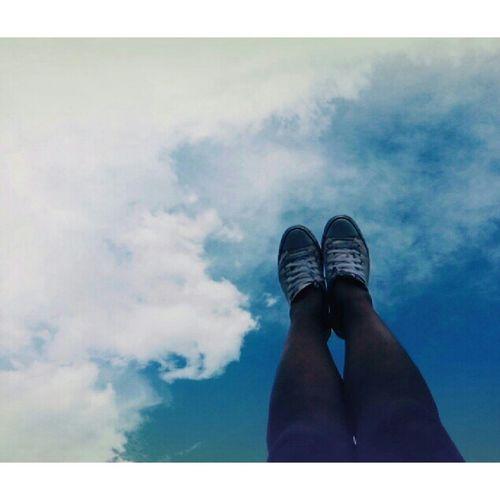 ( Mis pies 👣) pasando la tarde preciosa
