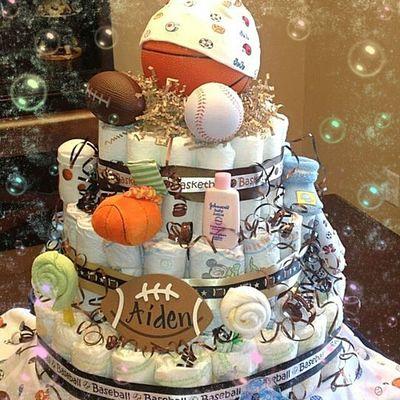 Kocoa Creations ddiaper cake