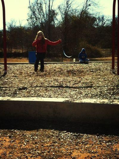 Swinging Forever Alone!