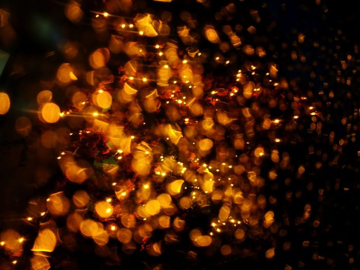 Illuminated Defocused Celebration Christmas Decoration Christmas Close-up Sky Bauble Christmas Bauble