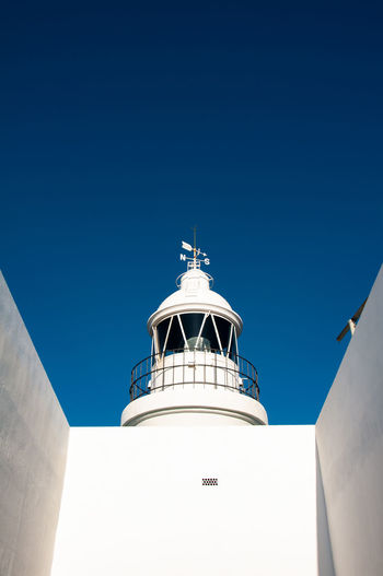 Faro de l'Albir, in L'Alfàs del Pi, Spain Blue Nature No People Day Outdoors Beach Playa Altea Costa Blanca Faro Faro De L'Albir Albir L'Alfàs Del Pi Sea Sea Life Sea And Sky Holiday Nature Blue Sky Blue Color White Coast Bird Spaın Espagna Mountain Mountain View White Color Quiet Quiet Moments Quiet Places View View From The Lighthouse Lighthouse Lighthouse_lovers