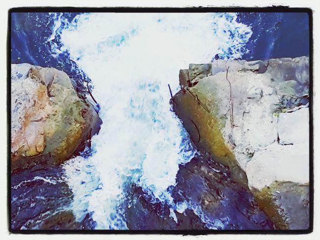 River Water Bridge Rock