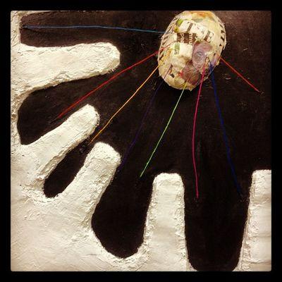 Arte Art Abstract Negua sin título