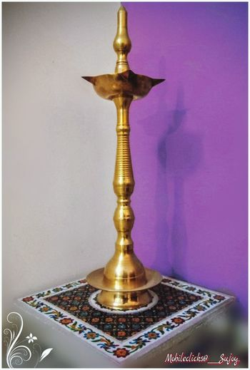 Lamp stand in Indian Living Room Lamplight Lampstand Lamp Stand