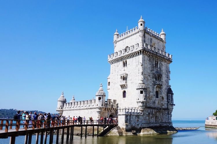 Torre De Belém Belém Lissabon Beautiful Day