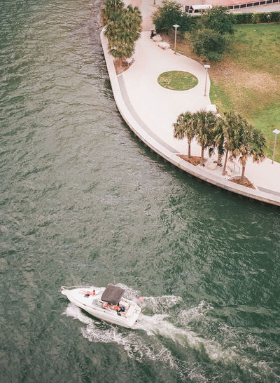 Cityscape of Miami; urban landscape; urban cityscape; film photography; escape; travel; explore Beach Boat City City Life Cityscape Explore Film Photography Florida Miami Oasis Ocean Palm Tree Pool Poolside Relax Symmetry Tall Buildings Travel Travel Destinations Urban Landscape Urban Skyline Vacation Water