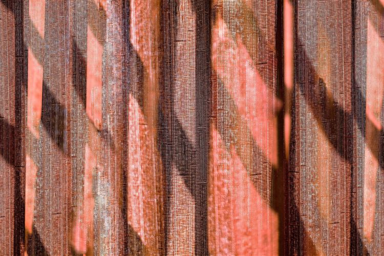 Still Life Full Frame Backgrounds Pattern No People Textile Close-up Textured  Day Red Curtain Indoors  Striped Clothing Sunlight Light And Shadow Fabric Abstract