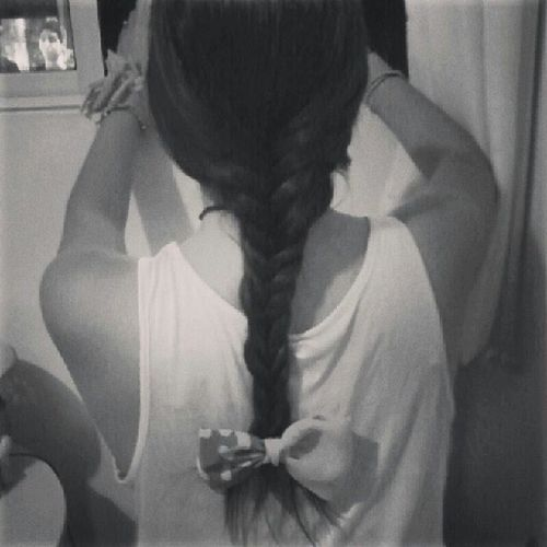Cuando tenia mi pelo largo :( <3
