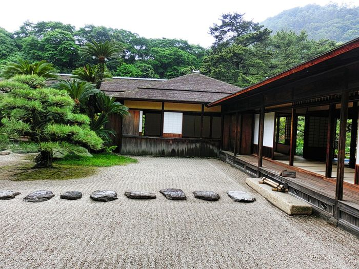 Hi! Hello World Taking Photos Day No People Architecture Old House Holiday Destination Check This Out History Cultures Enjoying Life Outdoors Built Structure Japan Photography Japanese Garden Japan 香川 高松 栗林公園