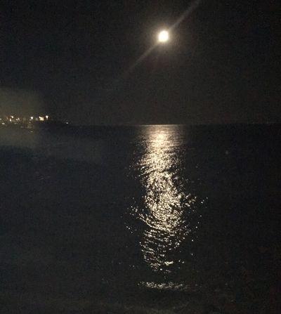Gece Gece Fotoğrafı Yakamoz Ayisigi Moonlight Nightphotography Reflection Night Summer Sea Deniz Isik