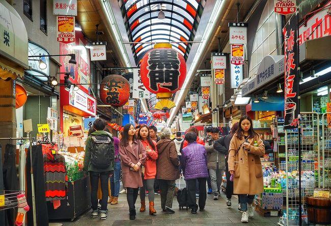Kuromon Ichiba EyeEmNewHere 17mm 1.8 Kuromon Ichiba Market City Life City Retail  Consumerism Travel Destinations Store Adult Women Men People Crowd Group Of People EyeEmNewHere