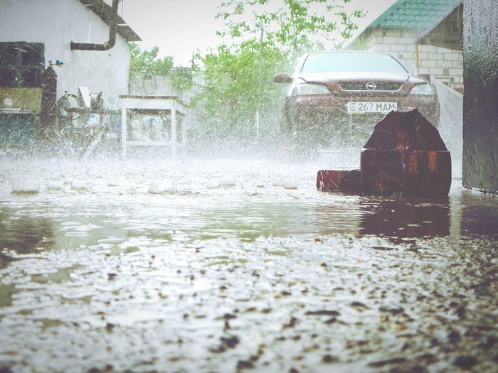Капли дождя First Eyeem Photo