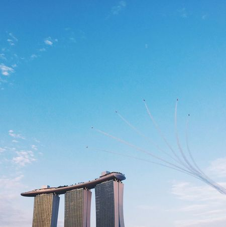 Fly out! Sg50 Ndp2015 Clouds And Sky Architecture Minimalism