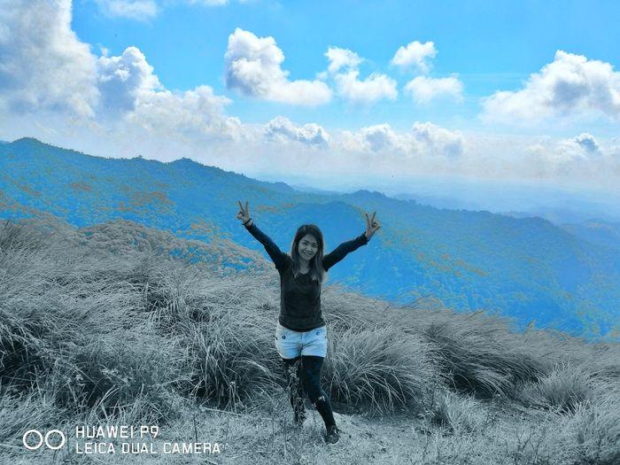 Flaahbackfriday TarakRidge Mtmarivelesbataan Outdoors Nature Selfie✌ Outdoors❤ Huaweiphotography Naturephotography Beauty In Nature MtMariveles Mountain Philippinemountain 1stmajorhike