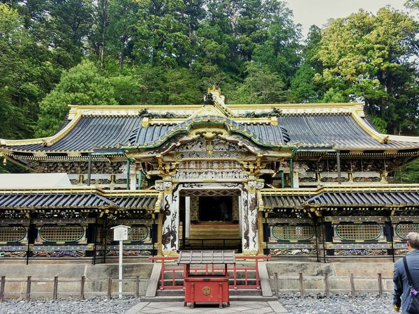 open... Yomeimon Hall || Travels Travel Travelling Traveling Temple Hopping Mountains Prayer Hall Explore Nippon