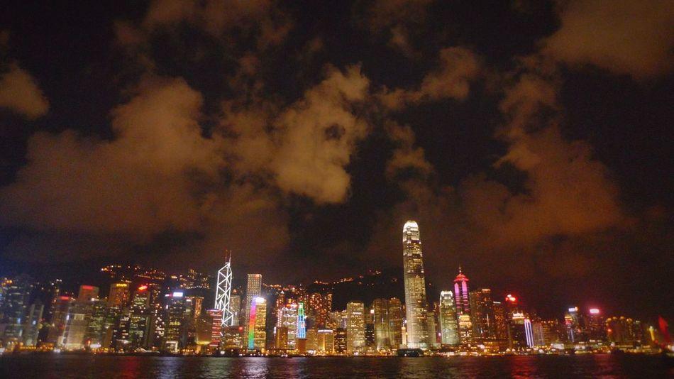 Night Lights Night Night, Sleep Tight HongKong Hongkong Bay Town TOWNSCAPE Town At Night Sky Night Light Up City Of Lights Night View Shining Glowing Glowing In The Dark Cities At Night Colour Of Life
