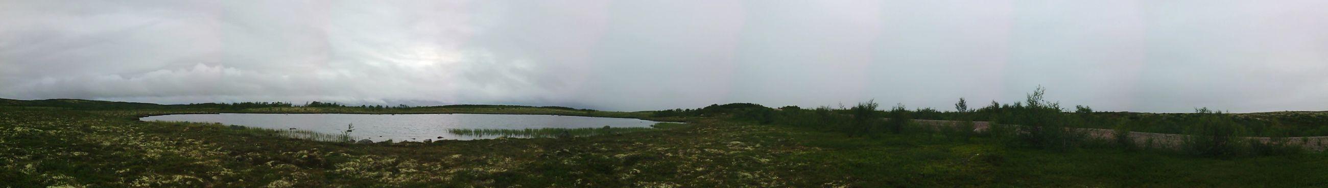 Tundra Landscape Teriberka Lake Water