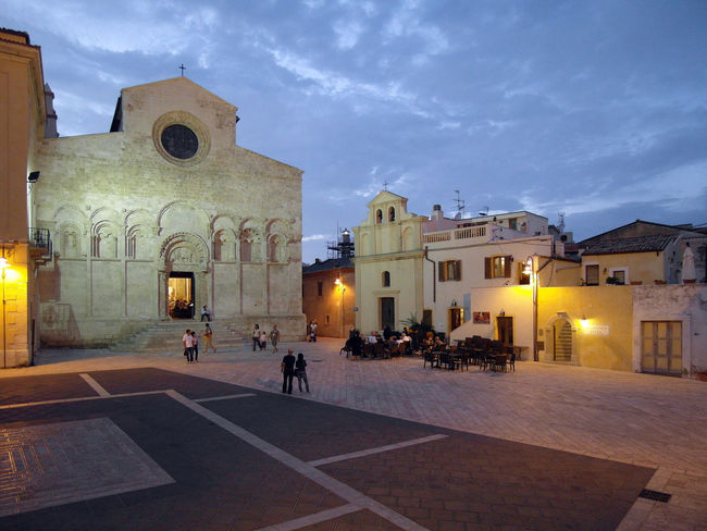 Cathedral square of Termoli Cathedral Square Termoli  Architecture Bar Building Exterior Built Structure Churches Cloud - Sky Historical Center Illuminated Italy Large Group Of People Molise Outdoors Place Of Worship Religion Spirituality Sunset Termoli City Travel Destination Travel Destinations Urban Landscape Urban Skyline