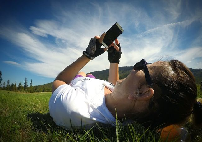 Relaxing Sky Relaxation Cloud - Sky Person MyWife❤️ Mywife Enjoying Life Gopro Shots Gopro Goprohero4 Clouds And Sky Clouds Beskidżywiecki Sopotniamala Goprohero4silver Capture The Moment Goprophotography