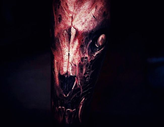 DavidJorquera Christianiatattoo Tattooforartnotforfashion Wolf Skull Wolfskull Blackngrey Ink